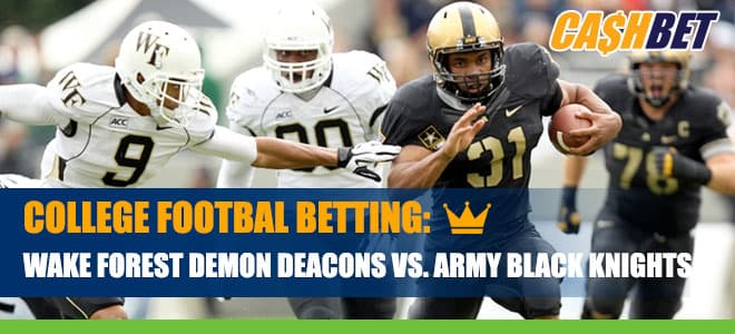 Wake Forest Demon Deacons vs. Army Black Knights Betting Information