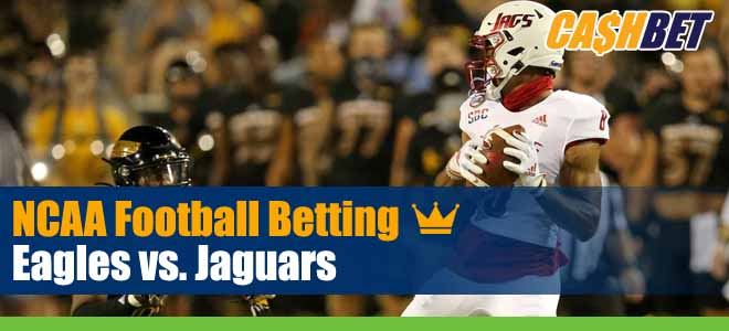 Georgia Southern Eagles vs. South Alabama Jaguars NCAA Football Week 7