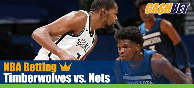 Minnesota Timberwolves vs. Brooklyn Nets