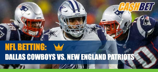 Dallas Cowboys vs. New England Patriots Betting Information and Odds