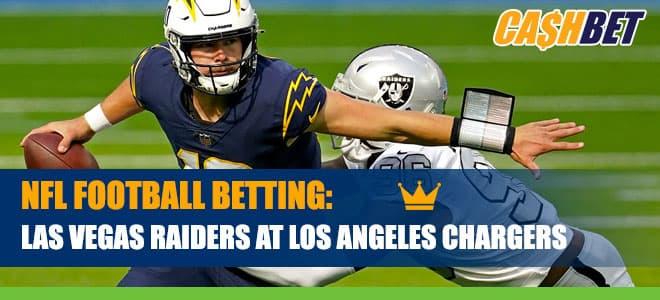 Las Vegas Raiders vs. Los Angeles Chargers Betting Information