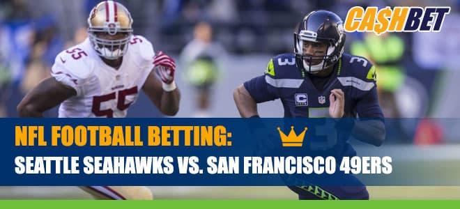 Seattle Seahawks vs. San Francisco 49ers Betting Information