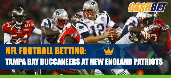 Tampa Bay Buccaneers vs. New England Patriots Betting Information