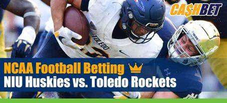 NIU Huskies vs. Toledo Rockets NCAA Football Week 6