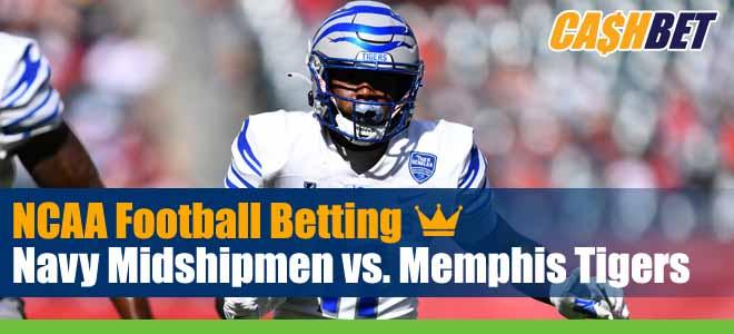 Navy Midshipmen vs. Memphis Tigers NCAA Football Week 7