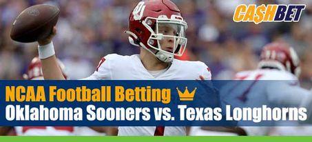 Oklahoma Sooners vs. Texas Longhorns NCAA Football Week 6