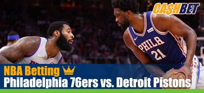 Philadelphia 76ers vs. Detroit Pistons